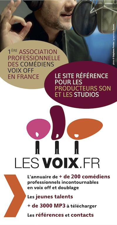 Publicité lesvoix.fr