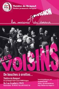 Spectacle à Avignon avec le comédien Patrick Delage